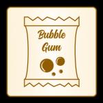 caprice bubble gum chewing gum