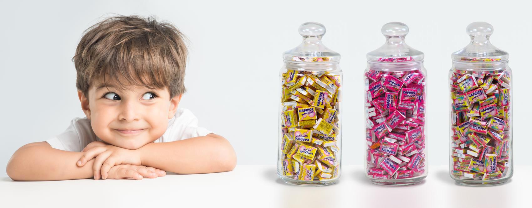enfant chewing gum caprice