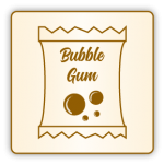 caprice bubble gum chewing gum