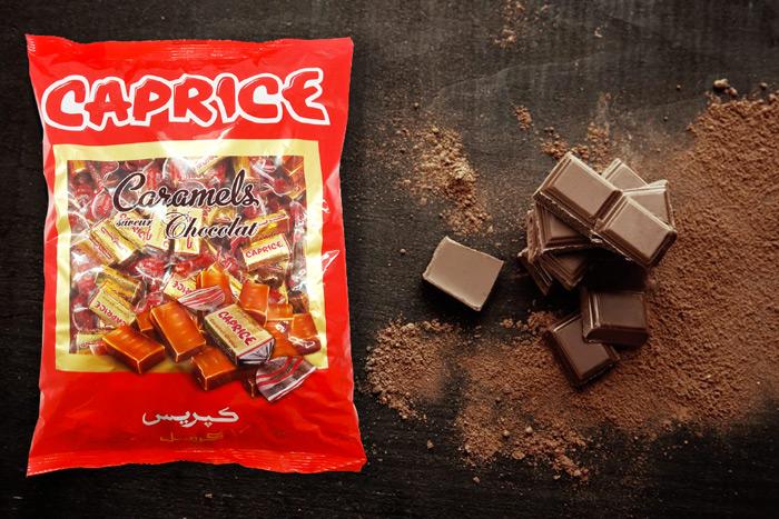 caprice chocolat visuel