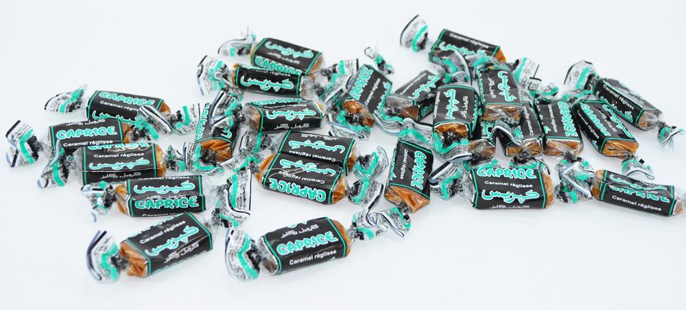 caramel réglisse caprice