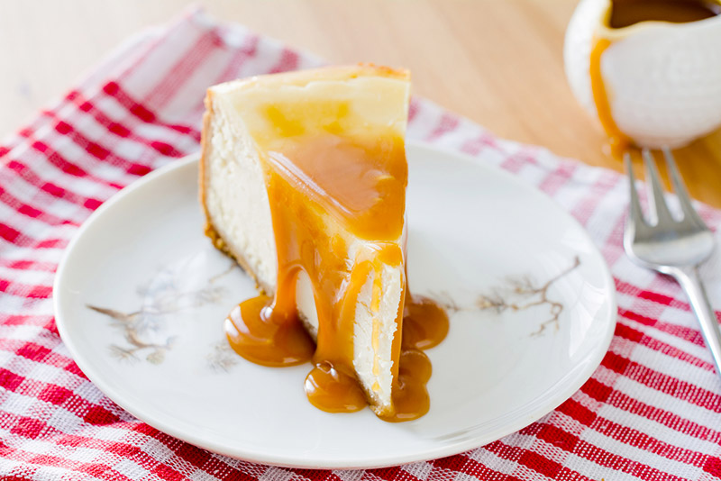 Recettes caprice cheese-cake-caramel caprice