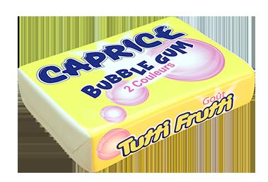 bubble gum tutti frutti