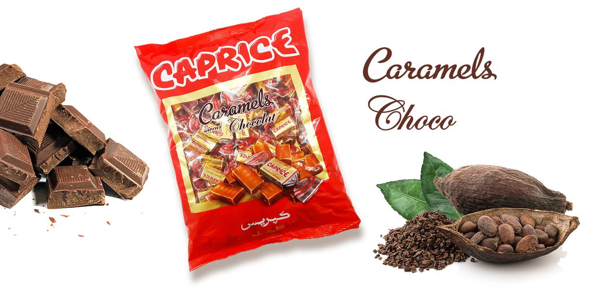 visuel sac caprice caramels cacao - chocolat