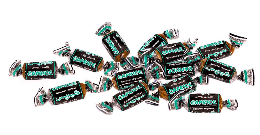 amas caprice caramel réglisse premium