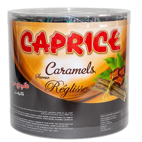 boite caprice caramel premium réglisse