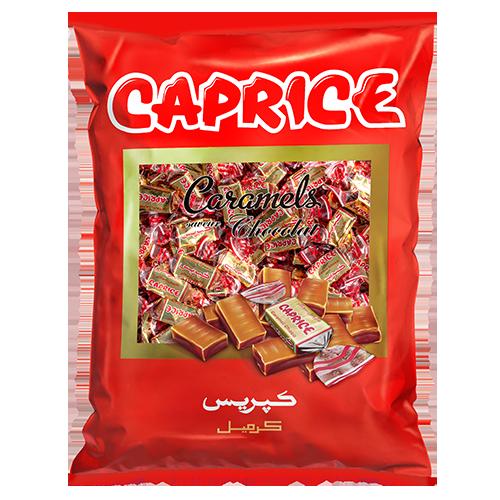 sac caramel chocolat