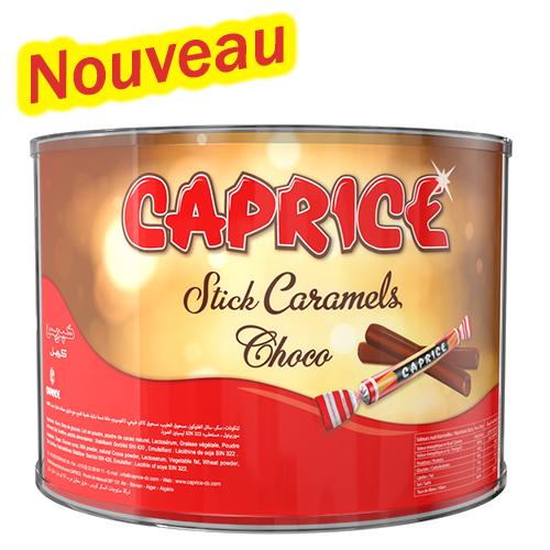 boite stick caramel cacao