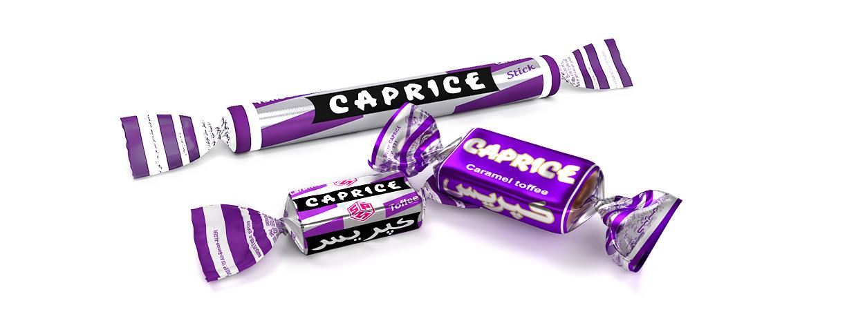 caprice stick caramel toffee et bonbons
